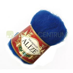 Alize - Alize Mohair Kid Royal 141 szafirowy 50 g